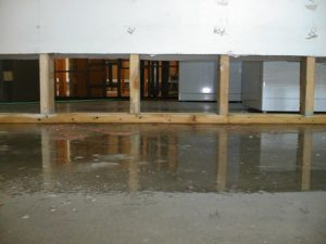 A Flooded Basement in Providence