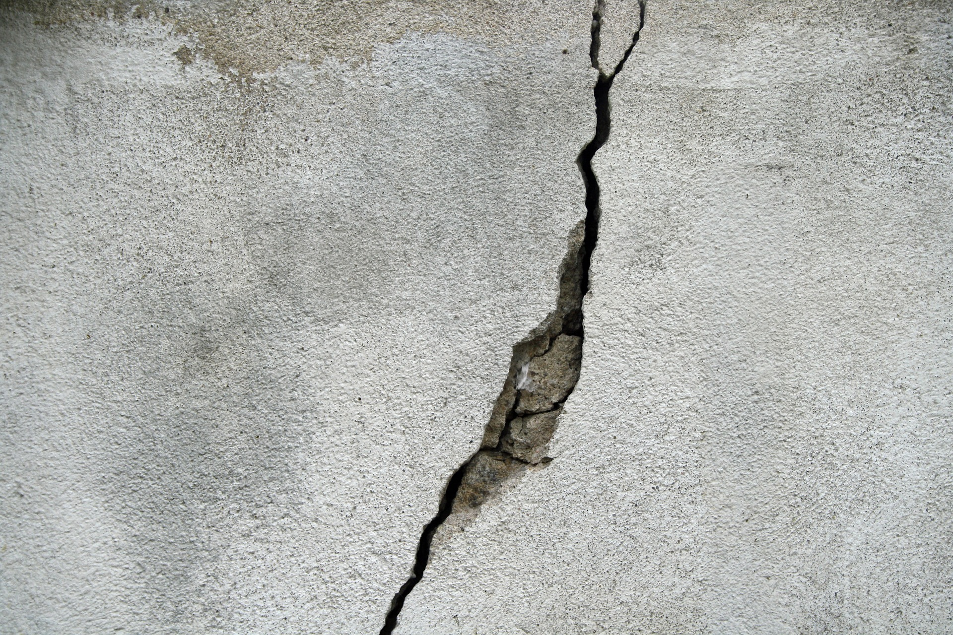Basement Wall Crack in need of Repair in Providence, Rhode Island